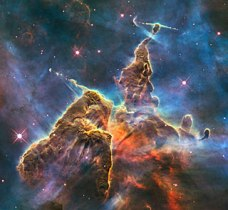 Hubble Mystic Moutain