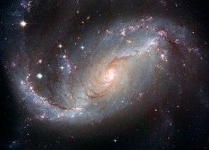 Hubble Stellar Nursery