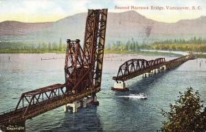 Second Narrows Bridge No 1