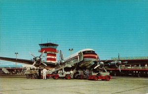 Vancouver Airport 1965