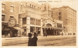Vancouver Opera House (now Orpheum)