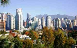 Vancouver_skyline4 average home price 1.27 million