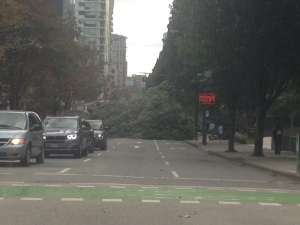 Downtown Vancouver Storm 1